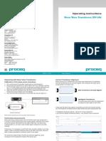 Shear Wave Transducer OI E 2014 High