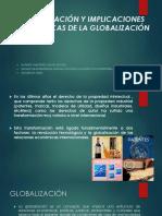 Globalización y Implicaciones Economicas de La Globalización