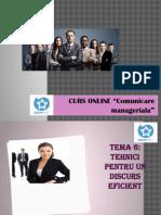 Comunicare Manageriala.tema 6