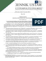 w Sprawie Ogłoszenia Jednolitego Tekstu Rozporządzenia Ministra Transportu i Gospodarki Morskiej