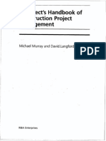 Architect's Handbook of PM Contents