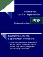 Manajemen Asuhan Dan Unit