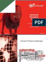 APT (Advanced Persistent Threats)_ La Nuova Frontiera Del MalwareabP1A_2017!05!06