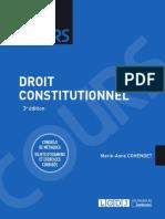 J3L1 (Corrigé) - Droit Constitutionnel (Cours)