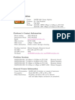 UT Dallas Syllabus for math2418.001.10f taught by Paul Stanford (phs031000)