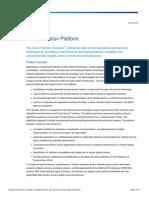 Tetration Analytics Datasheet