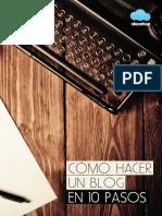 Cómo hacer un blog en 10 pasos