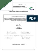 2015 601 44000000 Optimisation de La Consommation de l Eauuu