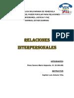 VEN 911. Relaciones Interpersonales. Maria Perez