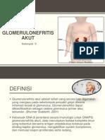 GLOMERULONEFRITIS AKUT ( ANAK)