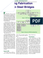 REDUCING FABRICATION ERRORS IN STEEL BRIDGES