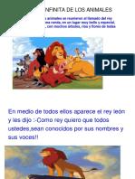 Cuento La Ronda Infinita de Los Animales . (1)