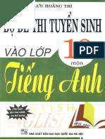 Bo de Thi Tuyen Sinh Vao Lop 10 Mon Tieng Anh 604