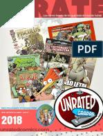 Plan Unrated Comics 2018 Parte 1 -Corregido-