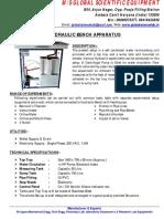 HYDRAULIC BENCH APPARATUS.pdf