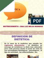 Dietetica Clase 1. 2011
