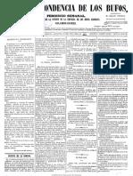 La Correspondencia de Los Bufos 16-2-1871