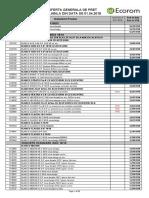 Lista Generala de Pret BLANCO 2018 01.04.2018
