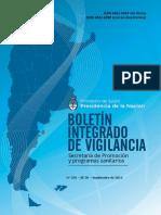 Boletin Integrado de Vigilancia 2016