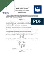 Laboratorio de Equilibrio y Cinética PREVIO 4