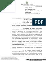 Fallo Incompetencia Lopez Camara Federal