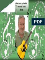 Cantante y Guitarrista Sebastián Badosa Ricart - Concierto Benéfico - 15/05/18