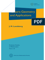(Graduate Studies in Mathematics 128) J. M. -Tensors_ Geometry and Applications-American Mathematical Society (2012)
