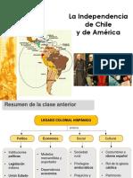 Independencia de Chile y América