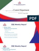 OCC Weekly Report 11 Feb