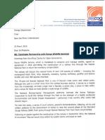 Terminate partnership with KWS_Save the rhino international.pdf