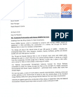 Terminate partnership with KWS_Mpala research centre.pdf