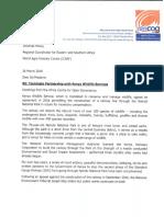 Terminate partnership with KWS_ICRAF0001.pdf