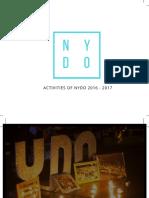 NYDO Vietnam Report - The 3rd Anniversary