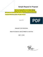 RFP web site