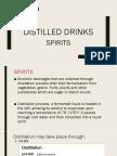 Distilled Drinks
