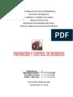 Control y Prevencion de Incendios