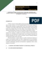 Estado Violencia e Poder Midiático - Alex Oliveira, Glaucia Gonzaga e Raildo Vasconcelos