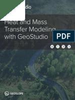 Heat and Mass Transfer Modeling Geostudio