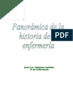 Panoramica de la historia de la enfermeria