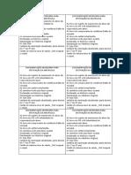 Documentação Necessária Para Efetivação Da Matricula (Salvo Automaticamente)