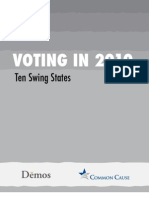 Voting in 2010