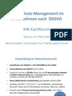Datenschutz Management DSGV