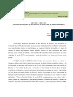 Anderson Manoel Pereira - História e Ficção (Texto)
