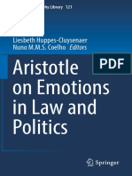 Aristotle on Emotions in Law and Politics 2018