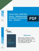 Effect of Fermentation on Nutrients
