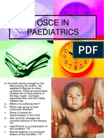 OSCE IN PAEDO + ANSWERS