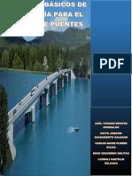 Estudios Basicos de Ingenieria Para El Diseño de Puentes
