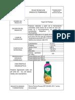 Ficha Técnica Yogurt BIOMIX