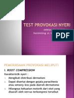 Test Provokasi Nyeri