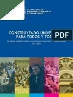 Memoria Vaec 2014 2017 PDF 58 Mb